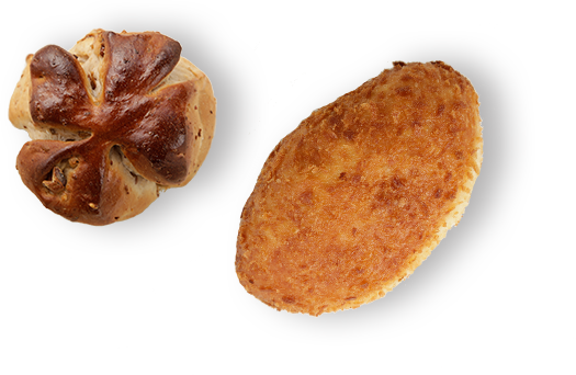 揺れるカレーパン
